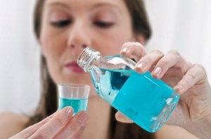 Полоскание рта при отечности десны