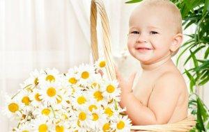 Травяные настои помогают при детском кашле