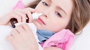 Процедура закапывания носа