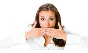 Выявление источника кровотечения из рта