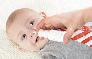 Причина заложенности носа у новорожденных