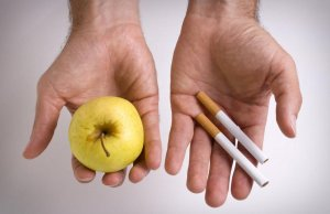 Питание во время воздержания от вредной привычки