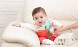 Увлажнение дыхательных путей с помощью небулайзера