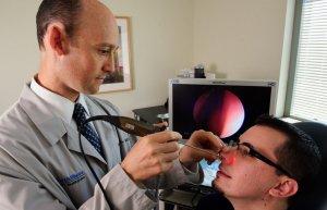 Операция на носу под местной анестезией