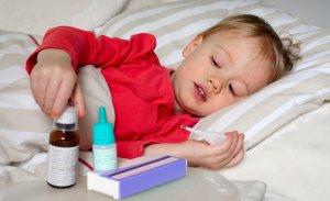 Температура при отравлении у ребенка: средства для снижения