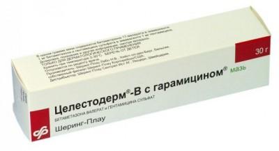 Целестодерм В с гарамицином: показания к применению