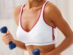 Как накачать грудные мышцы девушке?