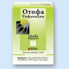 Капли Отофа для лечения ушных воспалений