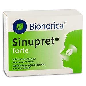 Подробная инструкция к таблеткам Синупрет