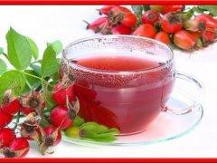 Напиток из шиповника для повышения иммунитета в период авитаминоза