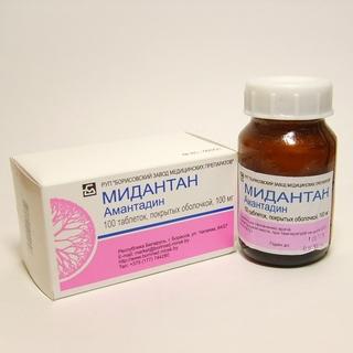 Мидантан - противопаркисонический препарат, который назначается для профилактики гриппа
