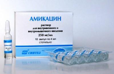Инструкция по применению Амикацина