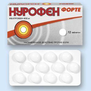 Нурофен форте - эффективный препарат, требующий осторожности