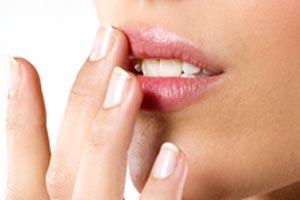 Лечение герпеса на лице мазями