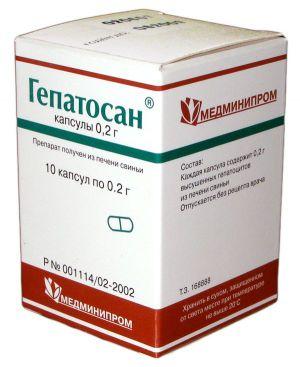 Гепатосан - гепатопротекторный препарат для здоровья печени