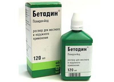 Раствор Бетадин