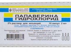 Свечи папаверина гидрохлорид при беременности