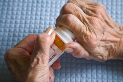 Senior Woman & Medicine