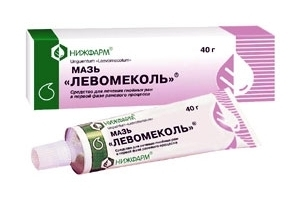 Мазь применяется при комплексном лечении гнойно-воспалительных кожных заболеваний