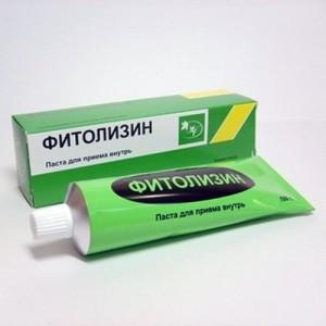 Пасту Фитолизин применяют для приготовления суспензии
