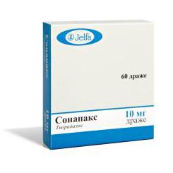 Применение препарата Сонапакс возможно только при действительно серьезных заболеваниях