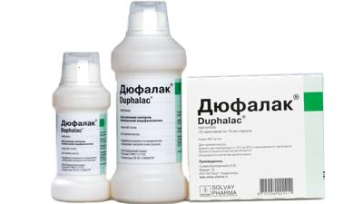 Дюфалак - одно из лучших средств лечения запоров у детей
