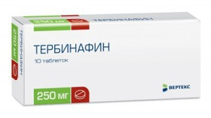 Применение таблеток Тербинафин для лечения грибковых заболеваний