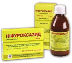 Инструкция по применению препарата Нифуроксазид