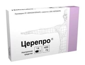 Церепро, как идеальное лекарственное средство для восстановления активности мозга