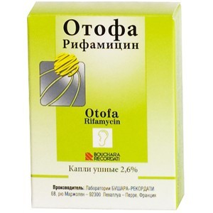 Препарат Отофа хорошо работает при выраженном отите, при перфорации барабанной перепонки