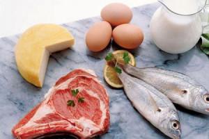 Наиболее популярными рецептами белковых диет является употребление рыбы, нежирной курятины, телятины
