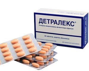 Препарат Детралекс должен назначаться только лечащим врачом