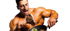 Многие мужчины предпочитают именно жареное мясо, так как данный продукт отличается особыми вкусовыми качествами, по сравнению с вареным мясом