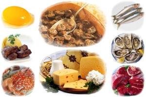 Для устранения дефицита витамина В12 рекомендуется  специальный рацион питания