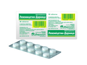 Левомицетин - антибактериальный препарат