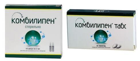 Витамины Комбилипен: польза для здоровья человека