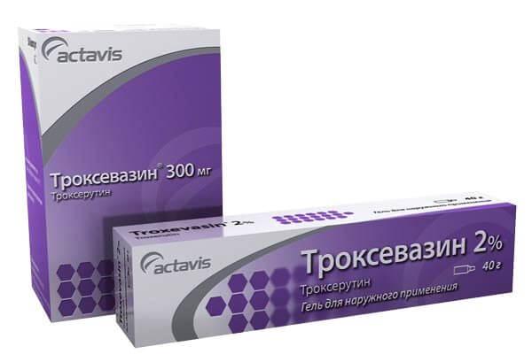 Троксевазин: показания к применению лекарства