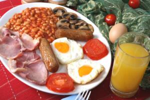 Уровень холестерина вкрови зависит от питания человека