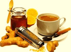Чай из имбиря - эффективное средство от простуды