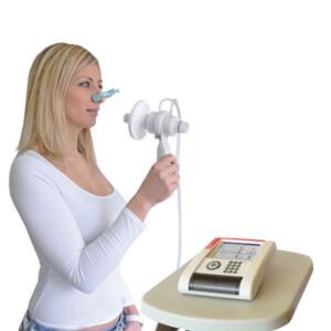 Прибор позволяет определить состояние здоровья органов дыхания