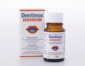 Дентинокс - эффективное средство при прорезывании зубов