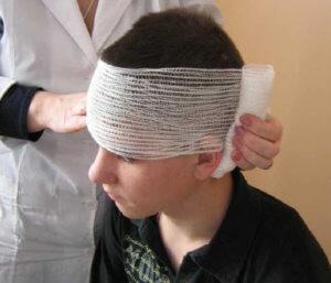 Вид повязки зависит от особенностей и места травмирования
