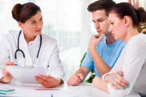 Один из симптомов патологии - проблемы с зачатием ребенка