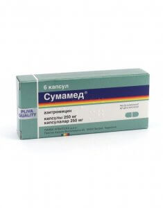Сумамед - антибиотик широкого спектра действия