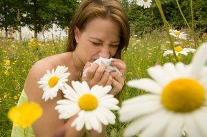 Аллергия - одна из причин появления спазма в горле