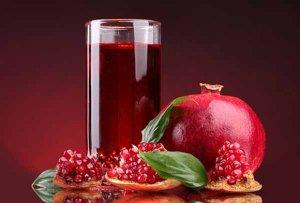 Сок граната - вкусный и полезный продукт