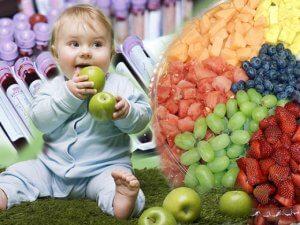 Правильное питание ребенка - залог его здоровья