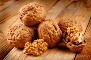 Грецкий орех - кладезь витаминов