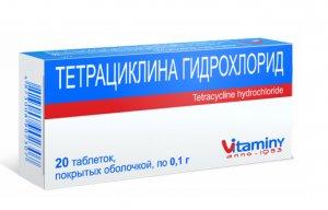 Применение антибиотиков из линейки тетрациклинов