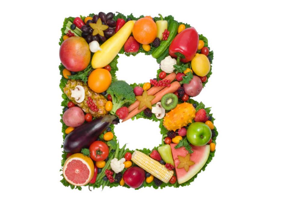 В каких продуктах находится витамин В: количество и польза